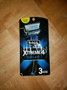 Schick Xtreme 4 Outlast Men's disposable Razors