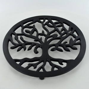 Cast Iron Trivet Tree of Life Homeware Kitchen Witch Magic Accessory Wicca 40182