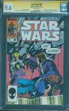 Star Wars 99 CGC SS 9.6 Sam De La Rosa Force Awakens Movie 1985 White Pages