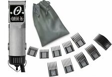 New Oster Classic 76  Brushed Aluminum Color Edition Hair Clipper+10 PC Comb Set