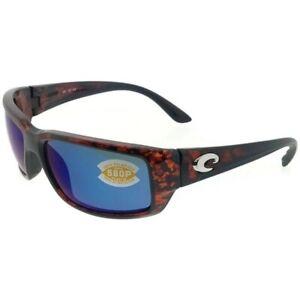 Costa del Mar Fantail Tortoise Frame / Blue Mirror 580P Lenses TF 10 OBMP
