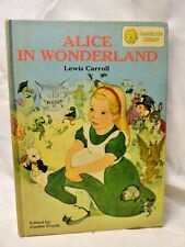 Alice in Wonderland and Peter Pan 2 in 1 J M Barrie Lewis Carroll Classics 1950