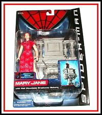 "Spiderman Movie _ 6""_ Mary Jane Watson (MOC)"