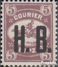 Leipzig (Prive mail) E5 postfris 1893 Courier h.B.