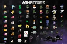 MINECRAFT PIXEL SPRITES 91.5X61CM  POSTER NEW 100 %OFFICIAL MERCHANDISE