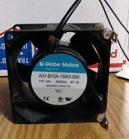 Globe Motors A31-B15A-15w3-000 115/230Vac 50/60hz 7/9watt HIGH POWER FAN