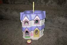 Fisher Price Sweet Streets Victorian Home Tea Table Set Lot Dollhouse House RARE