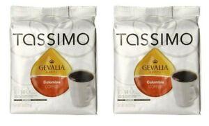 Lot 28ct Tassimo Gevalia Colombian Medium Roast Coffee Winter Brew 0620 FreeShip
