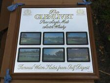 "New listing The Glenlivet Scotch Golf Course Sign Mirror Bar PubBay Hill 24"" D"