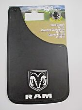 Dodge Ram 9x15 Mud Guards Pair New Made in USA Mopar Licensed Product