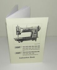 PFAFF Sewing Machine Multi Models 141 143 151 155 546 148 etc Instruction Manual