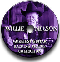 WILLIE NELSON STYLE COUNTRY GUITAR BACKING JAM TRACKS AUDIO CD COLLECTION
