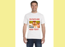 T-Shirt Custom Your Photo Text Logo Printing Dtg Personalized CUSTOMIZED Shirts!