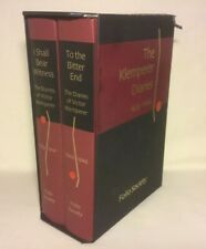 2006 folio Klemperer Diaries I Shall Bear Witness To The Bitter End 2 Vol K1