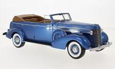1937 Buick Roadmaster 80-C Four Door Phaeton Blue met. by BoS Models LE252 1/18