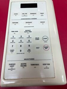 Ge Microwave Control Panel Part WB07X10197 JVM1442AA 001