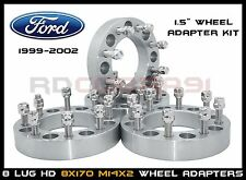 """8x170 1.5"""" Wheel Spacers Adapter Excursion F350 F250 