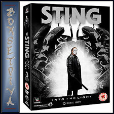 WWE STING - INTO THE LIGHT **BRAND NEW DVD*