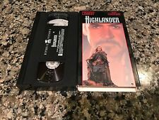 Highlander VHS! Republic Pictures Swords & Adventure! Sean Connery