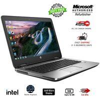 HP ProBook 640 G2 Intel Core i5-6300U 2.40Ghz 256GB 16GB RAM Win Webcam Backlit