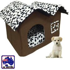 Soft Warm Kennel Pet Dog House Home Bed Cushion Foldable & Portable PDBED5238