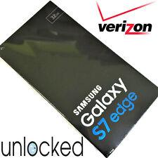 Samsung Galaxy S7 EDGE SM-G935V - 32GB  (VERIZON) Unlocked - BLACK ONYX **NEW**