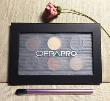 OFRA PROFESSIONAL MAGNETIC PALETTE 6 shades matte/shimmer + MALLY Blender Brush!