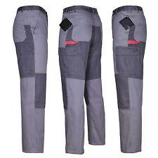 Arbeitshose Bundhose 100% Baumwolle grau Gr 46 62 Schutzkleidung