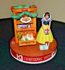 Disney 1994 Christmas Grolier Limited Edition Figurine 794/25,000 SNOW WHITE