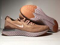 NEW Nike Epic React Flyknit 2 Rose Gold Men's Running BQ8928 600 SIZE 8-13 US