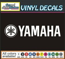 "9"" Yamaha Motorcycle Drum Music Guitar Waverunner Vinyl Decal window sticker"