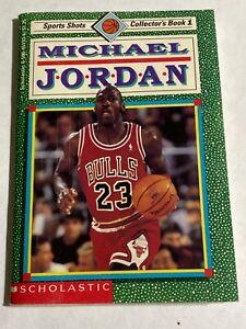 Michael Jordan 1991 Scholastic Sports Shots Collector's Book #1