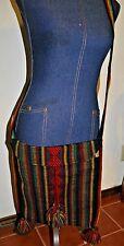 Mexican textile hippie tribal bohemian ethnic crossbody messenger bag purse NEW