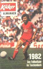 Kicker Almanach 1982 / Das Fußballjahr im Taschenbuch