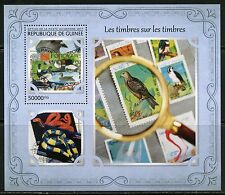 GUINEA 2017  STAMP ON STAMP SOUVENIR SHEET MINT NH