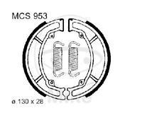 TRW Bremsbacken Bremsbelag mit Feder MCS953 Backen Trommelbremse