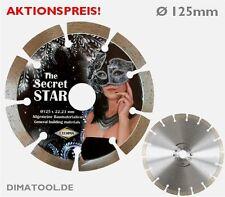 1x 125mm Cedima Secret Star Diamanttrennscheibe Beton hochwertiger Fotodruck!!