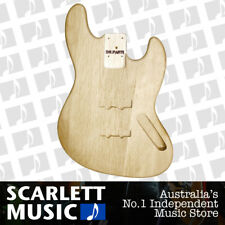 DR PARTS BASS BODY Traditional Jazz Bass Style Shape - Sanded & Sealed Alder