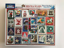 CHRISTMAS STAMPS by Lois B. Sutton 1000 pcs White Mountain 2016 COMPLETE
