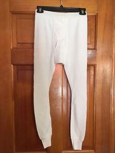 Thermal Waffle Long Underwear Size Small Mens Base Layer Bottoms JE Morgan
