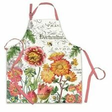 BLOOMS AND BEES APRON BY MICHEL DESIGN WORKS 608666695754 APR245