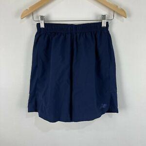 New Balance Mens Shorts Size Small Blue Elastic Waist Drawstring Pockets 47.08