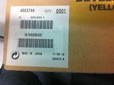 ORIGINALE Lexmark 40x3744 c935 x940 x945 Developer Carrier Yellow Giallo Nuovo