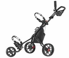 Caddytek 3 Wheel Golf Push Cart Lightweight Close Folding Push Pull Caddy Car 🌟