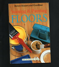 Staining & Painting Floors home improvement DIY book timber tiles stained floor