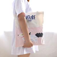 Women Handbag Canvas Lady Fashion Casual Tote Bags Shoulder Bag Shopping Bag