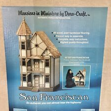 Vintage 1994 Dura-Craft Solid Wood San Franciscan DOLLHOUSE KIT ~ New/Open Box