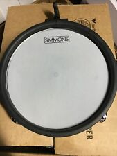 "Simmons SD550 MESH DRUM OS 8"" Tom Electronic Digital Pad Only"
