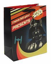 Large Star Wars Gift Bag - Large Gift Bag with Darth Vader - Disney Gift Wrap -