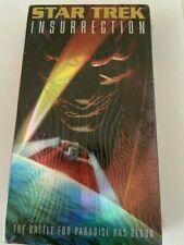 New listing Star Trek: InsurrectionThe Battle For Paradise Has Begun VHS Tape